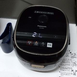 パナソニックIHジャー炊飯器 SR-KT067 中古品 送料込みで4200円