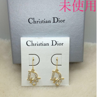 Christian Dior - 未使用 クリスチャン ディオール Diorピアスです。 スートンキラキラ
