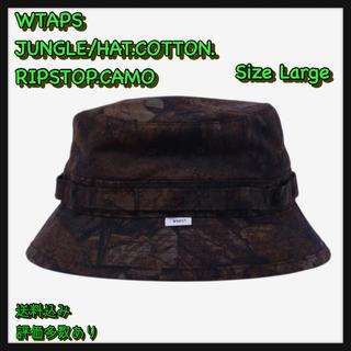 ダブルタップス(W)taps)の【L】JUNGLE/HAT.COTTON. RIPSTOP.CAMO(ハット)