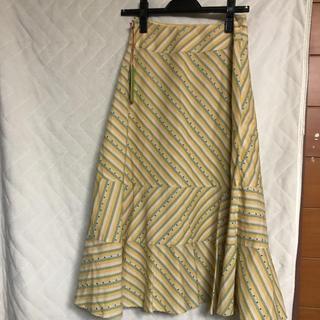 ホコモモラ(Jocomomola)の値下げ 新品 ホコモモラ フレアスカート  (ロングスカート)