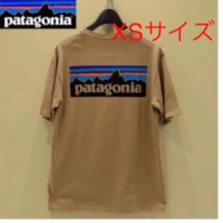 patagonia - パタゴニア  P6 ロゴ オーガニック Tシャツ クラシックタン ベージュ