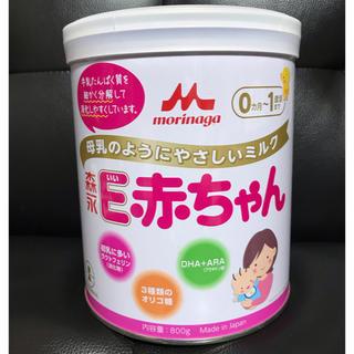 モリナガニュウギョウ(森永乳業)の森永 E赤ちゃん 粉ミルク 800g(乳液/ミルク)