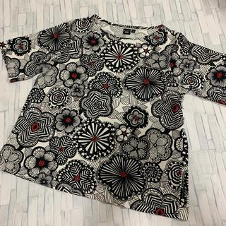 UNIQLO - UNIQLO ユニクロ マリメッコ コラボ シャツ Tシャツ 和柄
