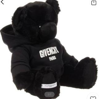 GIVENCHY - Givenchyテディベア ブラック40センチぬいぐるみ