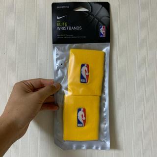 NIKE - Nike NBA リストバンド Yellow