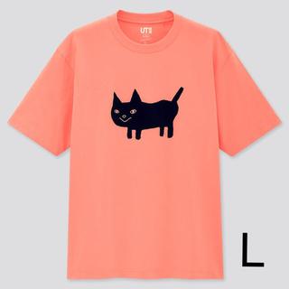ユニクロ(UNIQLO)の新品未使用 米津玄師 UNIQLO サイズL ねこ(Tシャツ/カットソー(半袖/袖なし))