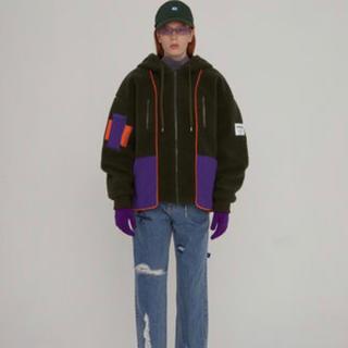 メゾンキツネ(MAISON KITSUNE')のADERERROR Pyon fleece hoodie strさま専用(ダウンジャケット)