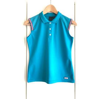 ミズノ(MIZUNO)の【美品】Mizuno/ミズノ『ノースリーブ ポロシャツ』スポーツ/トレーニング(ポロシャツ)