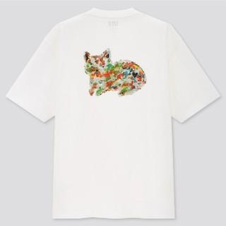 ユニクロ(UNIQLO)のユニクロ UT 米津玄師 米津 コラボ Tシャツ 白 猫(Tシャツ/カットソー(半袖/袖なし))