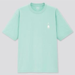 ユニクロ(UNIQLO)のユニクロ UT 米津玄師 米津 コラボ Tシャツ グリーン 緑 ミント(Tシャツ/カットソー(半袖/袖なし))