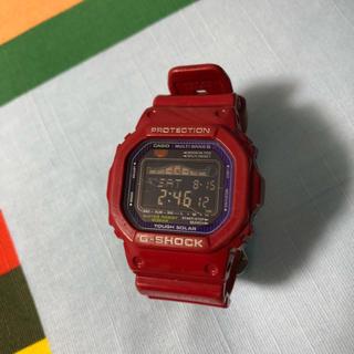 ジーショック(G-SHOCK)のGショック 赤(腕時計(デジタル))
