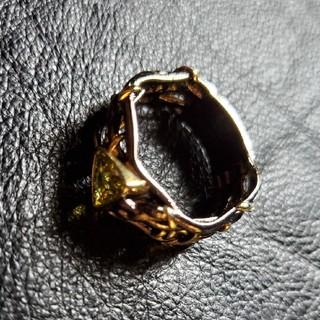 ビームス(BEAMS)のBLACK COATING design RING リング 指輪 (リング(指輪))