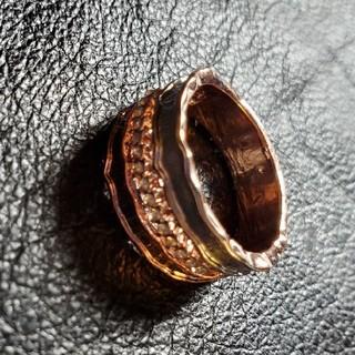 ビームス(BEAMS)のzircon design RING リング 指輪 ジルコニア(リング(指輪))