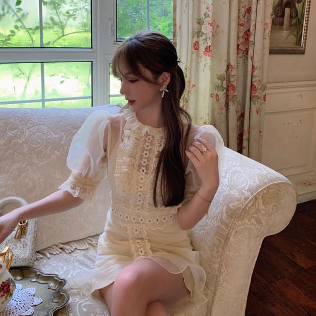 Swankiss(スワンキス)のBouquet de mariee レディースのワンピース(ミニワンピース)の商品写真