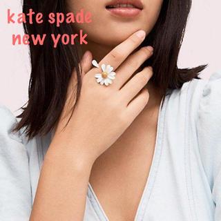 ケイトスペードニューヨーク(kate spade new york)の【新品¨̮♡︎】ケイトスペード イントゥーザブルーム リング US7p(リング(指輪))
