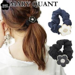 マリークワント(MARY QUANT)のMARY QUANT マリークヮントシュシュ ブラック黒(ヘアゴム/シュシュ)