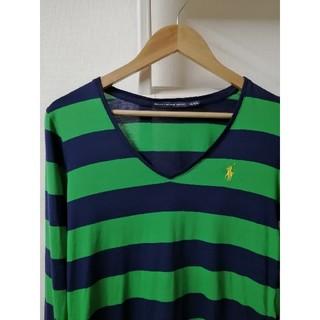 ラルフローレン(Ralph Lauren)の【RALPH LAUREN SPORT】ボーダーカットソー(Tシャツ/カットソー(七分/長袖))