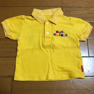 ミキハウス(mikihouse)のミキハウス 黄色 ポロシャツ 80(シャツ/カットソー)