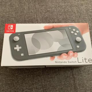 Nintendo Switch - 新品 ニンテンドー スイッチライト グレー Switch lite 本体
