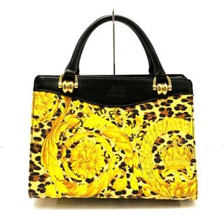 ジャンニヴェルサーチ(Gianni Versace)のジャンニヴェルサーチ ハンドバッグ 豹柄(ハンドバッグ)