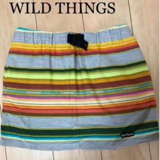 ワイルドシングス(WILDTHINGS)の新品♡WILD THINGスカート(ひざ丈スカート)