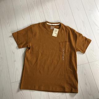 ムジルシリョウヒン(MUJI (無印良品))の無印良品 新品未使用タグ付き メンズTシャツLサイズ(Tシャツ/カットソー(半袖/袖なし))