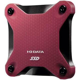 アイオーデータ(IODATA)のIO DATA ポータブルSSD SSPH-UT480R 新品未開封 送料無料(PC周辺機器)