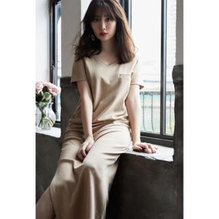 snidel - herlipto ♡ Relaxed T-Shirt Long Dress 新品