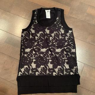 ダブルスタンダードクロージング(DOUBLE STANDARD CLOTHING)のダブルスタンダードクロージング ノースリーブニット 36(カットソー(半袖/袖なし))