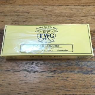 ディーンアンドデルーカ(DEAN & DELUCA)のTWG  フレンチアールグレイ 15コットンバック(茶)