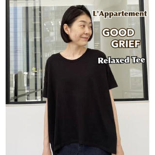 L'Appartement DEUXIEME CLASSE - 【GOOD GRIEF/グッドグリーフ】Relaxed Tee ブラック