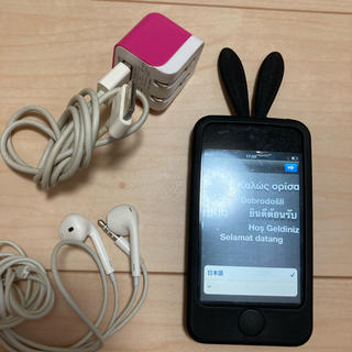 iPod touch 充電器 イヤホン