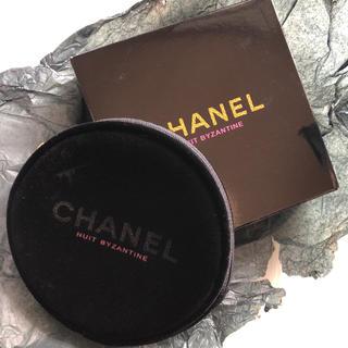 CHANEL - 【最終SALE】シャネル  ノベルティー ポーチ 円型 ブラック