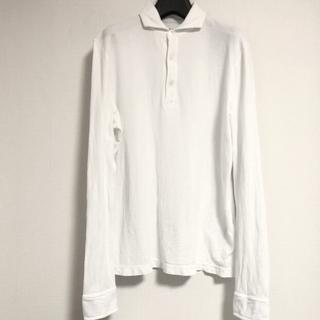 スリードッツ(three dots)のスリードッツ 長袖カットソー 白色 Mサイズ threedots(Tシャツ/カットソー(七分/長袖))