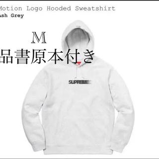 Supreme - supreme motion logo hoodie モーションロゴシュプリーム