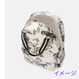 Cath Kidston - 新品★バッグパック ワイルドホース 馬 リュック キャスキッドソン 綺麗!