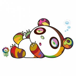 メディコムトイ(MEDICOM TOY)の村上隆 版画 パンダちゃん、眠い眠い。カイカイキキ 新品 (版画)