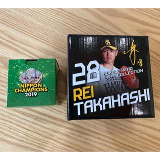 福岡ソフトバンクホークス - 福岡ソフトバンク ホークス 高橋礼の人形&チャンピオンリング