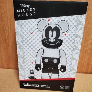 メディコムトイ(MEDICOM TOY)のBE@RBRICK MICKEY MOUSE Ver. 100% & 400%(キャラクターグッズ)