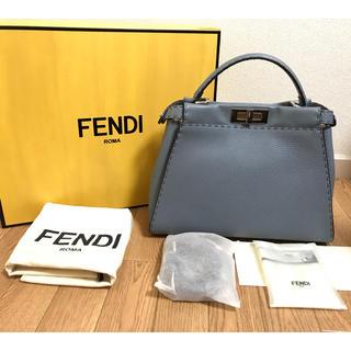 FENDI - 美品 フェンディ セレリア ピーカブー 2WAY ショルダー ハンドバッグ