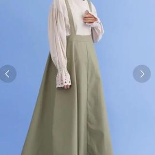 merlot - メルロー 吊りスカート!