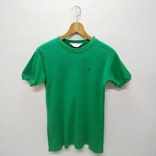 ジムフレックス(GYMPHLEX)の古着Tシャツ(緑)(Tシャツ(半袖/袖なし))