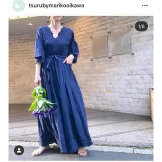 ツルバイマリコオイカワ(TSURU by Mariko Oikawa)の専用tsuru by mariko oikawa ワンピース(ロングワンピース/マキシワンピース)