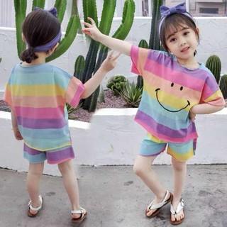 子供服 レインボー 110サイズ 男女兼用