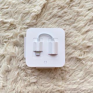 アップル(Apple)のApple純正イヤホン変換アダプタ(変圧器/アダプター)
