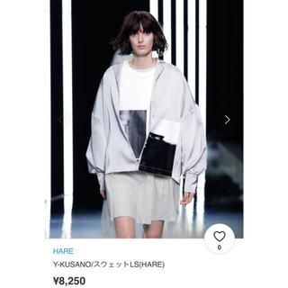 ハレ(HARE)のHARE Y-KUSANO Collaboration sweat 2018ss(スウェット)
