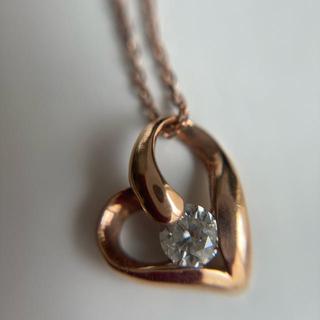 K10 ダイヤモンドネックレス
