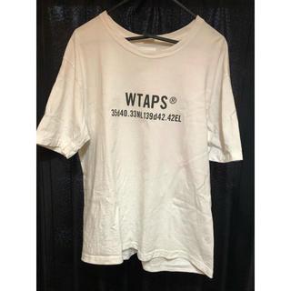W)taps - 【wtaps /ダブルタップス】白 Tシャツ