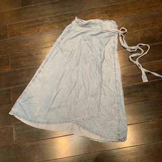 ギャップ(GAP)のお値下げ GAP ロング巻スカート(ロングスカート)