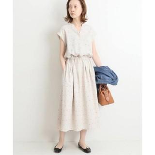 IENA - 新品未使用♡イエナ♡サテンスキッパーシャツワンピース 38